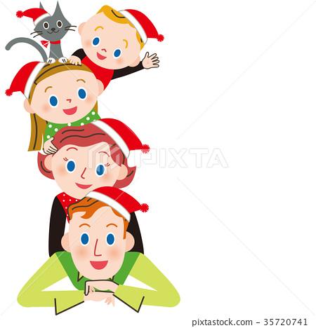Good family at Christmas 35720741
