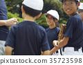 男孩棒球隊練習 35723598
