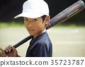 เด็กผู้ชายเบสบอล 35723787
