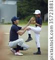 青少年棒球 男孩 男孩们 35723881