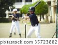 เด็กผู้ชายเบสบอล 35723882