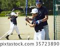 青少年棒球 男孩 練習 35723890
