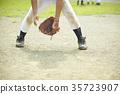 Shonen baseball practice game defensive 35723907