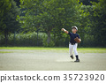 青少年棒球 男孩 男孩们 35723920