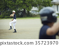 青少年棒球 男孩 男孩们 35723970