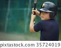 青少年棒球 小學生 練習 35724019