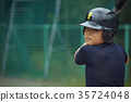 青少年棒球 小學生 練習 35724048