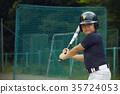 青少年棒球 小學生 練習 35724053