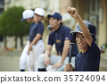 青少年棒球 小學生 擊球手 35724094