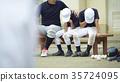 青少年棒球 男孩 男孩们 35724095