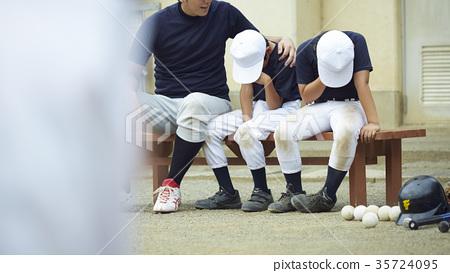 男孩棒球令人失望 35724095