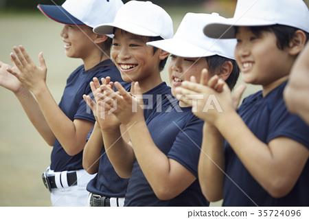 青少年棒球 小學學生 小學生 35724096