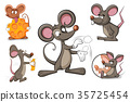 mouse rat character 35725454