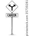 sign, arrow, signage 35730281