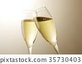香檳 含汽葡萄酒 吐司 35730403
