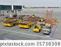 机场 汽车 车 35736308