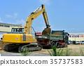 工程 挖掘者 挖掘机 35737583