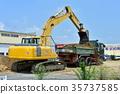 工程 挖掘者 挖掘机 35737585