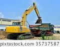 工程 挖掘者 挖掘机 35737587