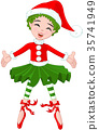 Little Christmas Ballerina 35741949