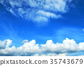 fleecy clouds, background, backgrounds 35743679