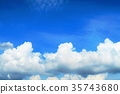 fleecy clouds, background, backgrounds 35743680
