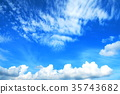 fleecy clouds, background, backgrounds 35743682