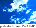 fleecy clouds, background, backgrounds 35743685