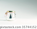 Christmas tree in a glass jar 35744152