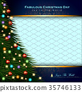 Abstract Christmas Background. 35746133