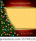 Abstract Christmas Background. 35746135