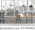 椅子 商店 照亮 35746864
