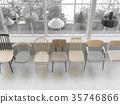 椅子 商店 照亮 35746866