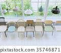 椅子 商店 照亮 35746871