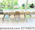椅子 商店 照亮 35746876