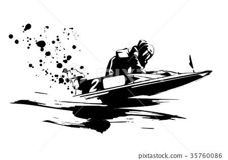 摩托艇比賽 35760086