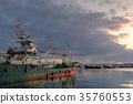 渔港 早晨 清晨 35760553