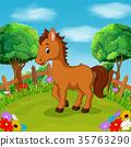 動物 卡通 農場 35763290