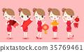 cartoon, cheongsam, chinese 35769461