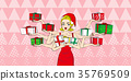 pop of cartoon woman 35769509