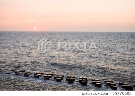日落的海邊 35770606