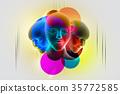 3d women face 35772585