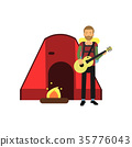 男性 男人 吉他 35776043