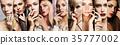 女性 女 肖像 35777002