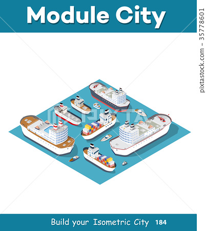 Isometric models of ships 35778601