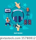音乐 声音 饶舌 35780812