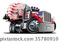 卡车 矢量 矢量图 35780910