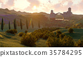 lavender, landscape, field 35784295