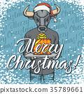 buffalo Christmas xmas 35789661