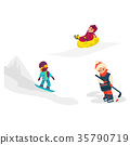 kid, vector, child 35790719